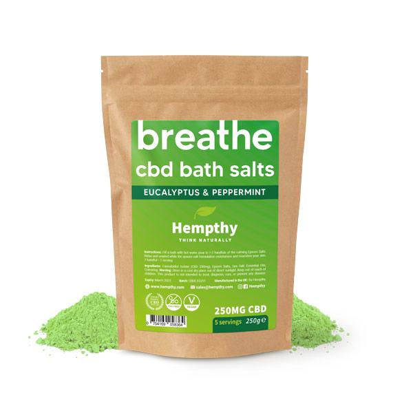 CBD Skincare Bath Salts - CBD Epsom Salts