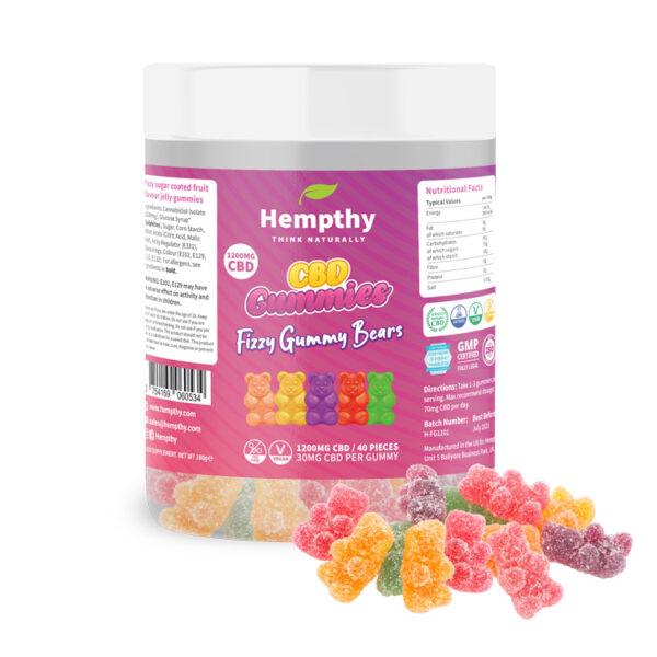 CBD Fizzy Gummies 1200mg CBD